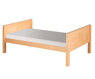 Camaflexi Low Platform Bed Twin Size Natural 1 | Camaflexi Furniture | CF-E121