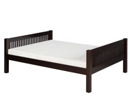 Camaflexi Low Platform Bed Full Size Cappuccino | Camaflexi Furniture | CF-E1412