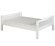 Camaflexi Low Platform Bed Full Size White | Camaflexi Furniture | CF-E1413