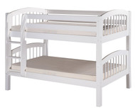 Camaflexi Low Bunk Bed Twin Size White | Camaflexi Furniture | CF-E2003
