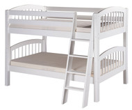 Camaflexi Low Bunk Bed Twin Size White 1 | Camaflexi Furniture | CF-E2003A