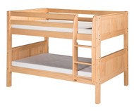 Camaflexi Low Bunk Bed Twin Size Natural 3 | Camaflexi Furniture | CF-E2021