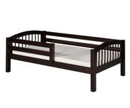 Camaflexi Day Bed with Front Safety Rail Cappuccino | Camaflexi Furniture | CF-E302