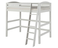 Camaflexi High Loft Bed Twin Size White | Camaflexi Furniture | CF-E603