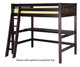 Camaflexi High Loft Bed Twin Size Cappuccino 1 | 24701 | CF-E612