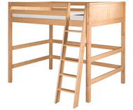 CLEARANCE Camaflexi High Loft Bed Full Size Natural | Camaflexi Furniture | CF-E621F-SD