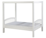 Camaflexi Canopy Bed Twin Size White | Camaflexi Furniture | CF-E803