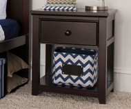 Craft 1 Drawer Nightstand Espresso | Craft Furniture | CK-14-1001-005