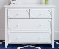 Craft 4 Drawer Dresser White | Craft Furniture | CK-14-1007-002