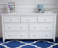 Craft 7 Drawer Dresser White | Craft Furniture | CK-14-1009-002
