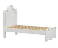 Craft ADELAIDE Panel Bed Twin Size White | Craft Furniture | CK-ADELAIDE