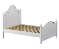 Craft SYDNEY Panel Bed Twin Size White | Craft Furniture | CK-SYDNEY