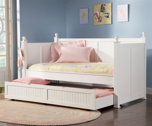 Nantucket Day Bed with Trundle Bed Kids Nantucket Cottage style