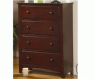Parker 4 Drawer Chest | Coaster Furniture | CS400295