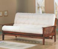 Coaster Dirty Oak Futon Sofa   Coaster Furniture   CS4382