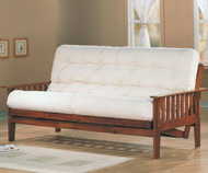 Coaster Dirty Oak Futon Sofa | Coaster Furniture | CS4382