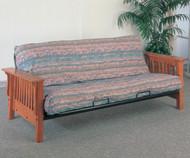 Coaster Oak Futon Sofa   Coaster Furniture   CS4844