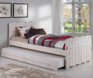 Tree House Panel Bed with Trundle Twin Size | Donco Trading | DT1383TRS-Trundle
