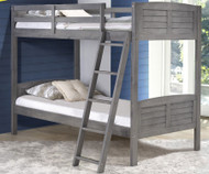 Louver Bunk Bed | Donco Trading | DT2010TTAG