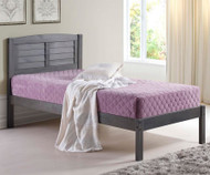 Louver Bed Twin Size | Donco Trading | DT212TAG