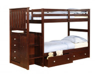 Manhattan Stair Stepper Bunk Bed | Donco Trading | DT820CP