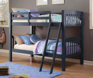 Donco Mission Bunk Bed Blue | Donco Trading | DT9080TTB