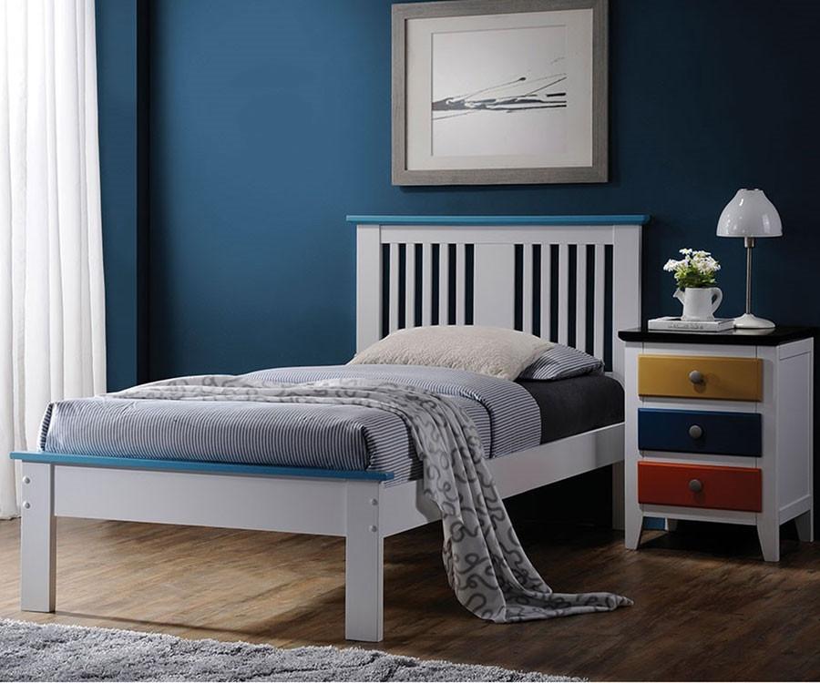 Donco trading twin size howard platform bed 990tw solid for Bedroom furniture sets tampa fl