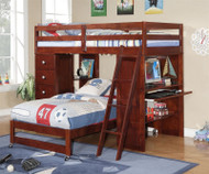 Manhattan Student Loft Bed   Donco Trading   DTCON3