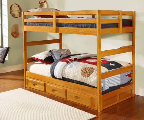 honey ranch bunk bed discovery world furniture dwf2108