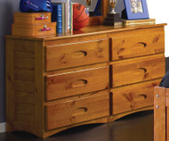 Ridgeline Discovery World Furniture Honey Desk