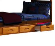 Honey 3 Drawer Unit | Discovery World Furniture | DWF2192