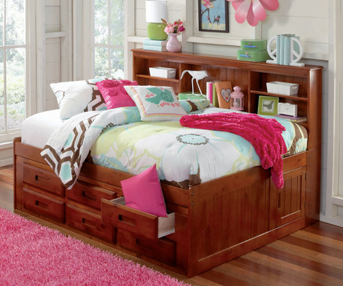 desks bed awesome kids utica lavish bunk rich drawer wood full beds a desk for toned furniture drawers this features with dorm stairs berg the loft below perfect