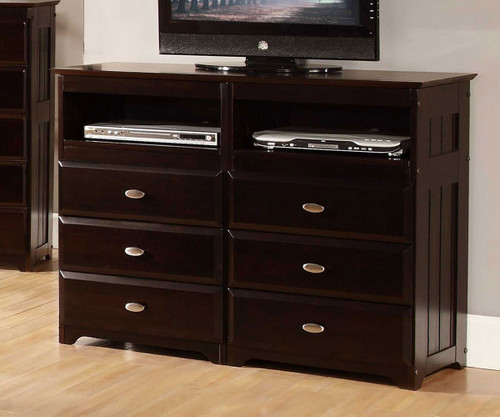 Beau Espresso Entertainment Dresser | Discovery World | DWF2971