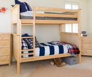 Jackpot Bunk Bed Natural | Jackpot Kids Furniture | JACKPOT-710100-001