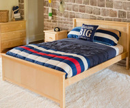 Jackpot Full Size Bed Natural | Jackpot Kids Furniture | JACKPOT-710330-001