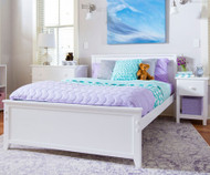 Jackpot Full Size Bed White | Jackpot Kids Furniture | JACKPOT-710330-002