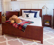 Jackpot Full Size Bed Cherry | Jackpot Kids Furniture | JACKPOT-710330-004
