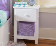 Jackpot Nightstand White | Jackpot Kids Furniture | JACKPOT-714011-002