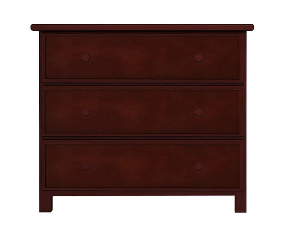 Jackpot cherry finish 3 drawer dresser 714030 004 for Spring hill designs bedroom furniture