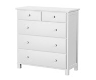 Jackpot 5 Drawer Dresser White | Jackpot Kids Furniture | JACKPOT-714123-002