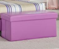 Savannah Upholstered Storage Bench Lavendar | Kith | KT269-28
