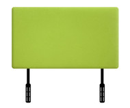 Kidz World Designer Fabric Headboard Lime Green Suede Twin Size | Kidz World | KW1100-LGS