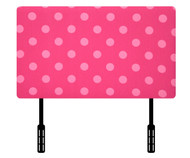 Kidz World Designer Fabric Headboard Oxygen Pink Twin Size | Kidz World | KW1100-OP