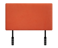 Kidz World Designer Fabric Headboard Orange Suede Twin Size | Kidz World | KW1100-OS