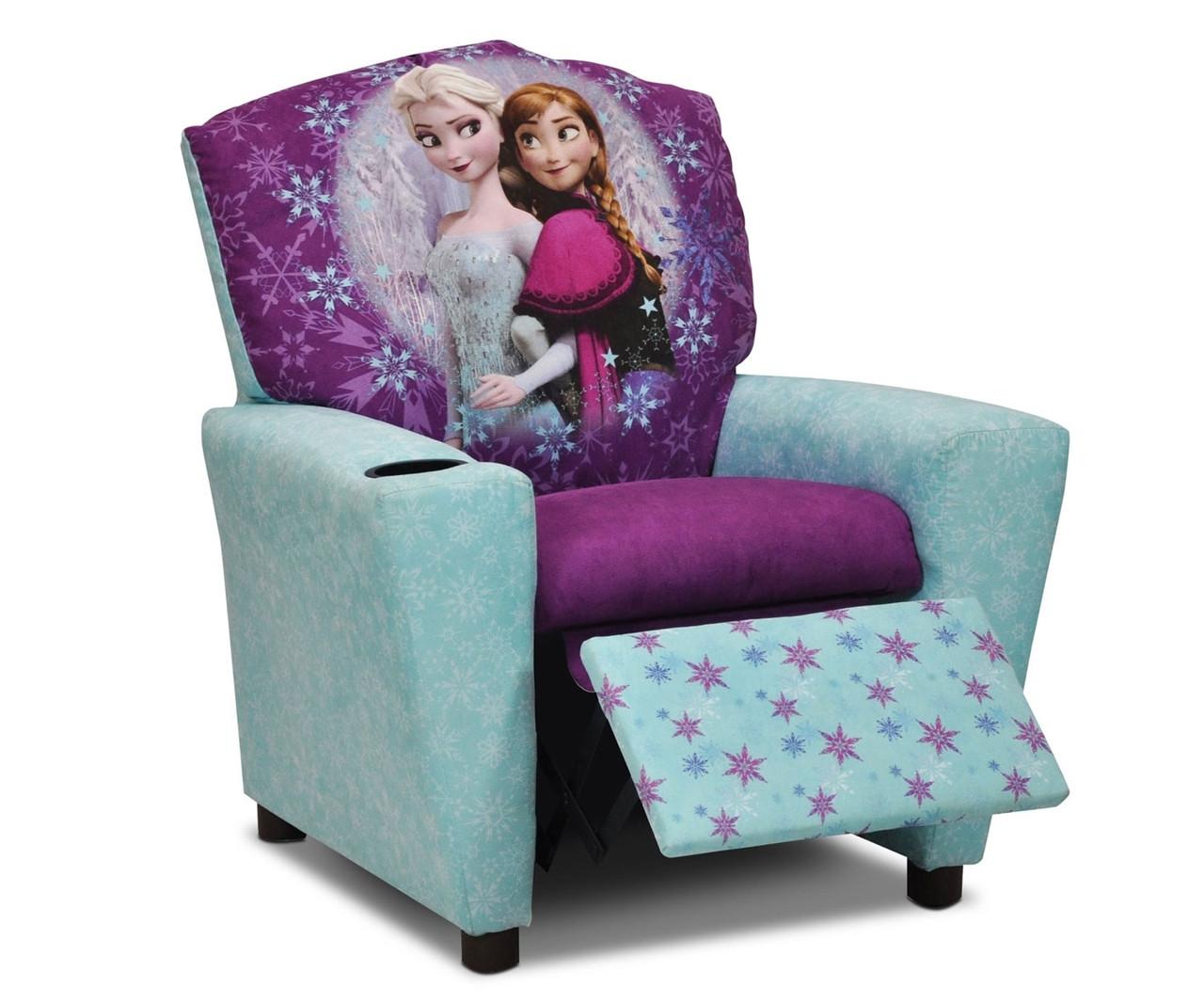 Kidz world disney frozen recliner 1300 dfrozen kidz for Spring hill designs bedroom furniture