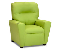 Kidz World Recliner Designer Fabric Lime Suede | Kidz World | KW1300-LS