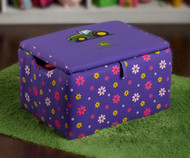 Kidz World Storage Box John Deere Purple | Kidz World | KW1400-JDP