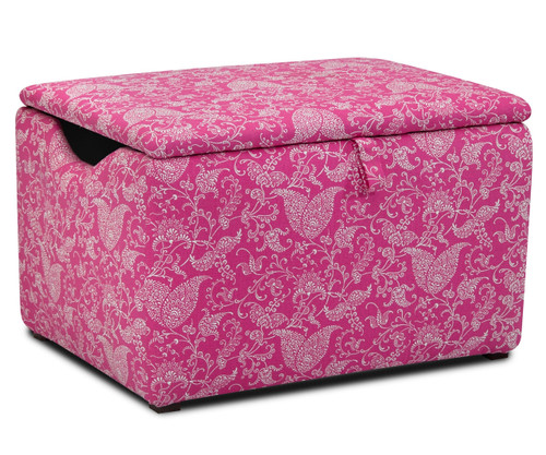 Kidz World Storage Box Designer Fabric Small Paisley Candy Pink | Kidz  World | KW1400
