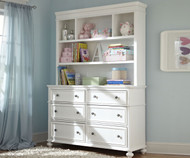 Madison Dresser with Hutch | Legacy Classic | LC-2830-1100-7201