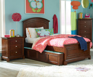 Impressions Panel Bed with Trundle Twin Size | Legacy Classic | LC-2880-4103KX